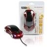 Souris voiture USB optique avec 3 boutons et molette rouge