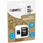 Carte mémoire Emtec microSDHC 16GB Class10