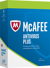 McAfee AntiVirus Plus Unlimited Devices 1 an