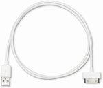 eSTUFF 30 Pin MFI Cable 1m White   Pièce