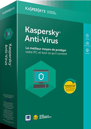 Kaspersky Anti-Virus 1-PC 1 an OEM